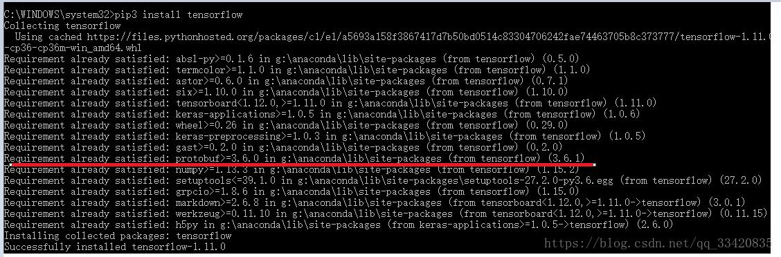 tensorflow安装ImportError:DLL load failed - 程序员大本营
