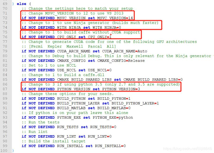 win10+vs2015+Anaconda3+caffe+python3 5(CPU only)配置- 程序员大本营